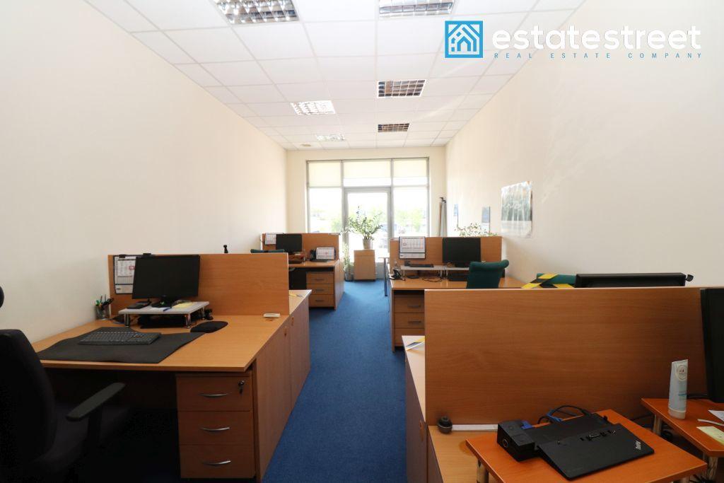 Lokal biurowy 261m2 + magazyn 40m2